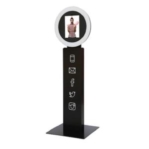 Digital Lead Capture Kiosk