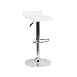 "Adjustable Bar Stool - White - $99 (Height 25-33"")"