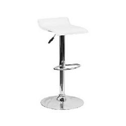 "Adjustable Bar Stool - White - $99 (Height 25-33"")"