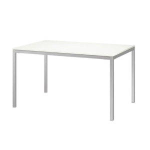 Rental Furniture - White Table