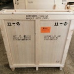 Peter Murphy Icons 3 - crate shipping to Fansiscan Priory in USA - July 2020