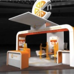 20 x 20 Virtual Booth Template Example