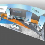 20 x 40 Virtual Booth Template Example