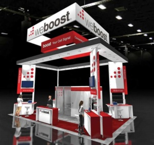 30 x 30 Virtual Booth Template Example