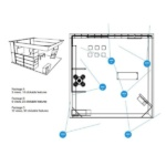 Virtual Booth Viewpoints Example Layout